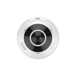 4K Ultra HD Vandal-resistant Fisheye Fixed Dome Camera